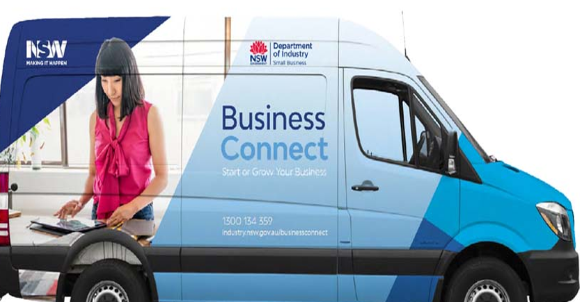 BUSINESS CONNECT BUS IN LITHGOW