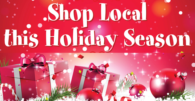 "XMAS SHOP AND CELEBRATE ""LOCAL"" THIS YEAR"